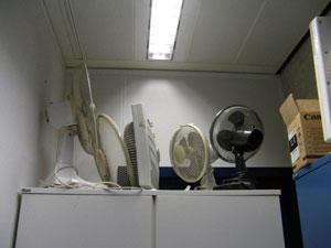 Ventilatoren gaat het wel goed met het klimaat